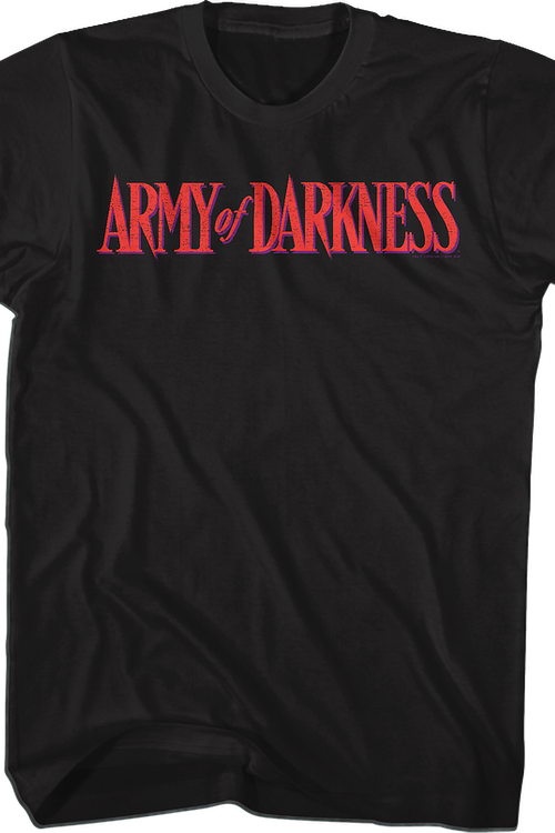 Movie Logo Army Of Darkness T-Shirt