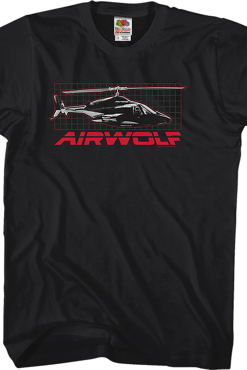 Helicopter Airwolf T-Shirt