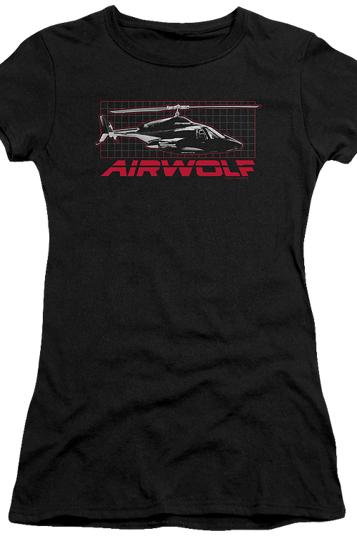 Junior Helicopter Airwolf Shirt