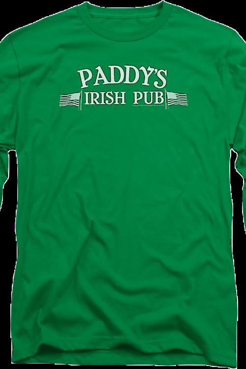 Paddy S Irish Pub It S Always Sunny In Philadelphia Long Sleeve Shirt