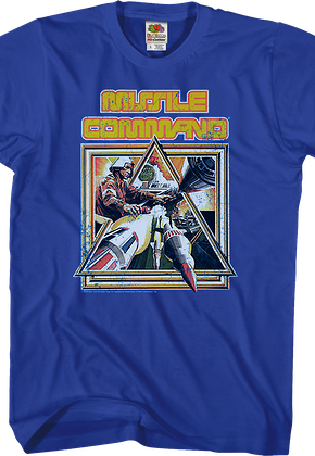 Missile Command Box Art T-Shirt