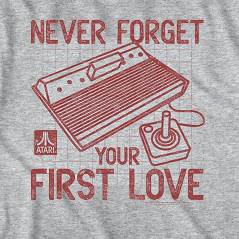 atari tshirt  Never Forget Your First Love Atari T-Shirt