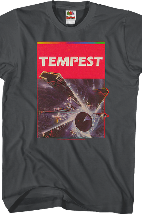 Tempest Cartridge Art Atari T-Shirt