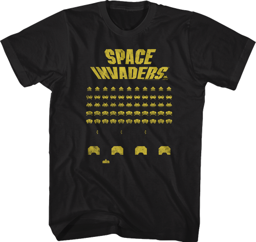 Laser Cannon Space Invaders T Shirt