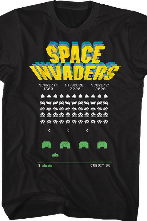 Gameplay Space Invaders T-Shirt