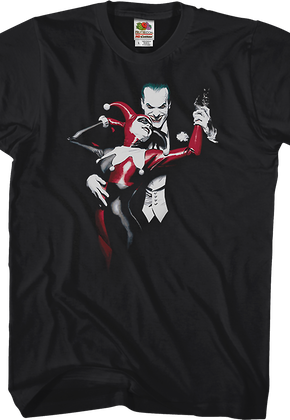 Alex Ross Joker and Harley Quinn T-Shirt