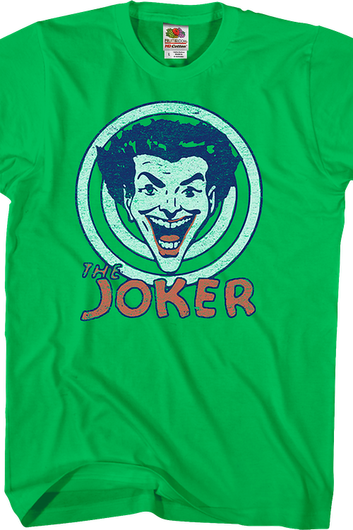 fe64af5abf Joker Target Batman T-Shirt  DC Comics Mens T-Shirt