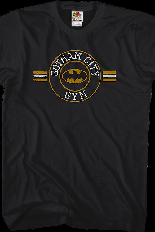 478649232 DC Comics Gotham City Gym Batman T-Shirt