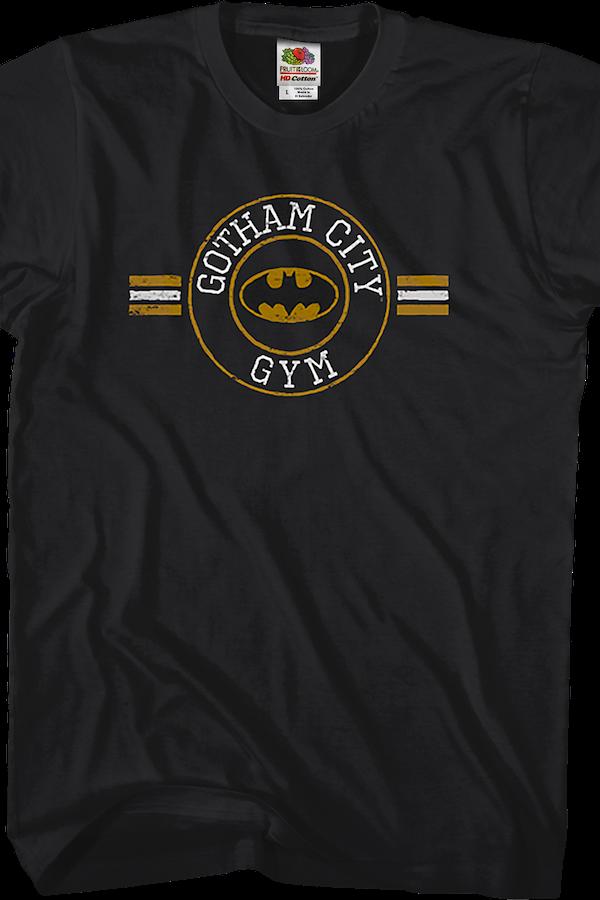 DC Comics Gotham City Gym Batman T-Shirt