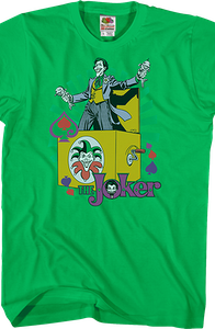 Joker In The Box Batman T-Shirt