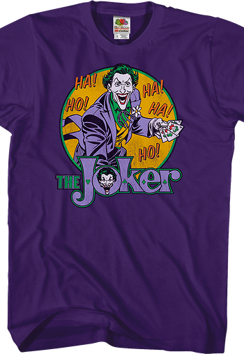 Laughing Joker Batman T-Shirt