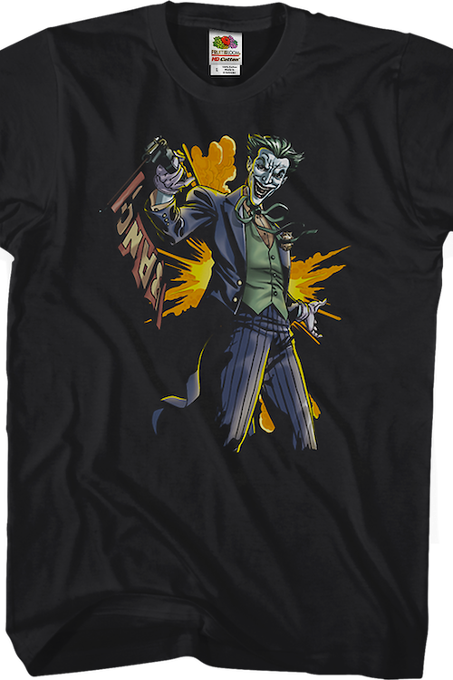 Joker Bang Gun Batman T-Shirt