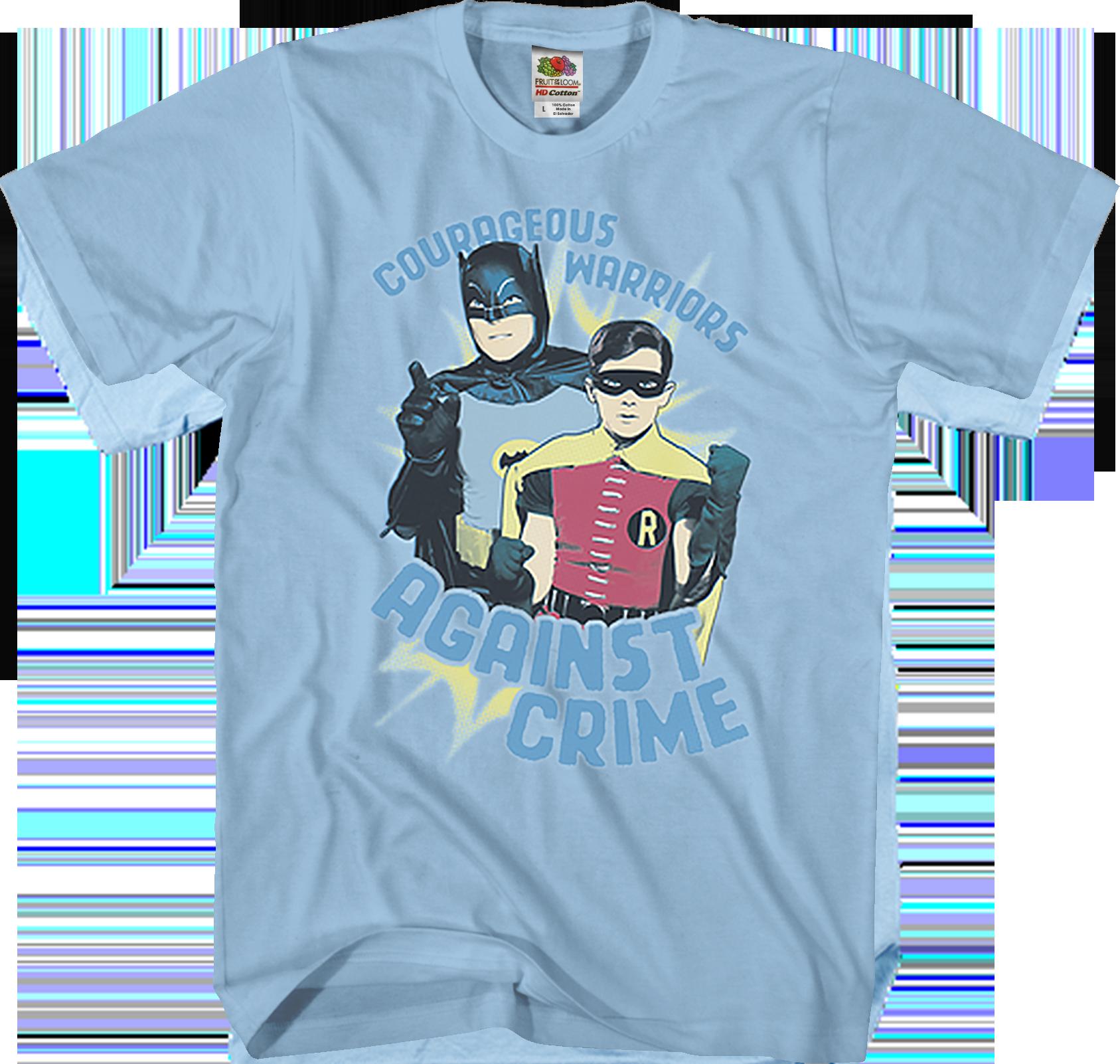 Batman Classic TV Show CLASSIC DUO Robin Boy Wonder BOYS /& GIRLS T-Shirt S-XL