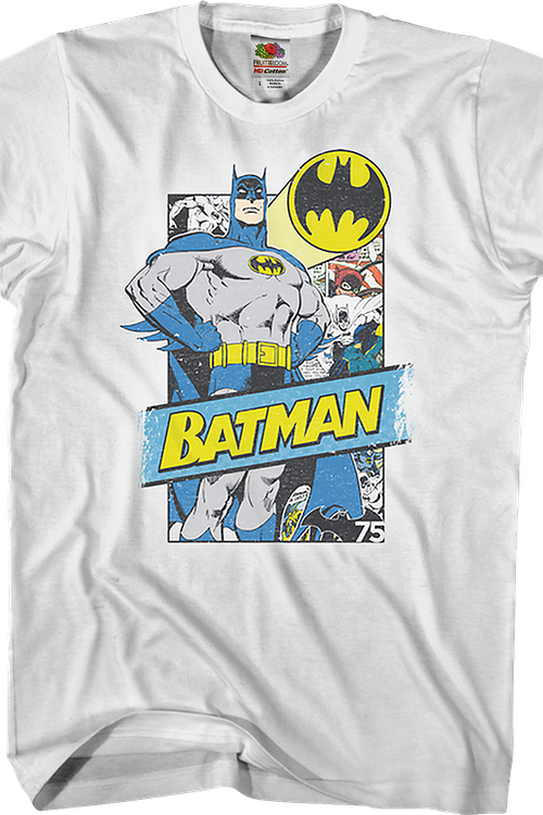 Comic Background Batman T-Shirt