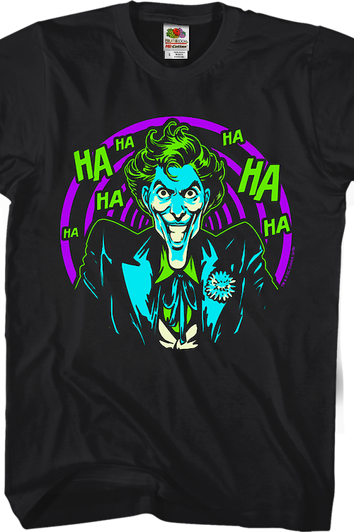 The Joker Spiraling Laughter DC Comics T-Shirt