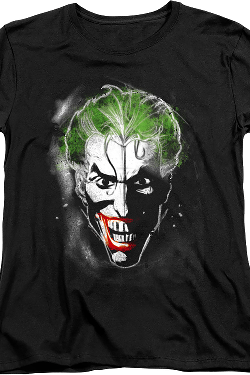 Womens Joker Clown Prince of Crime DC Comics Shirt