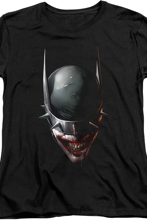 Womens Smile The Batman Who Laughs DC Comics Shirt