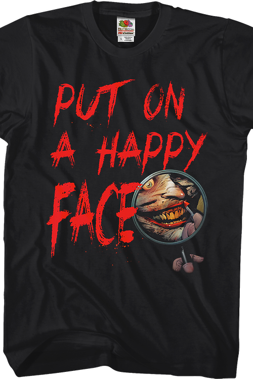 The Joker Put On A Happy Face DC Comics T-Shirt