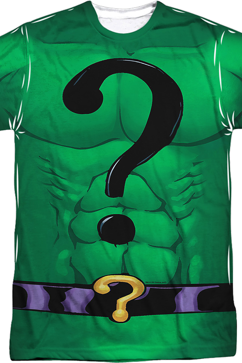 The Riddler Costume DC Comics T-Shirt