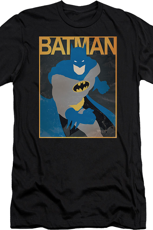 Vintage Simple Poster Batman T-Shirt