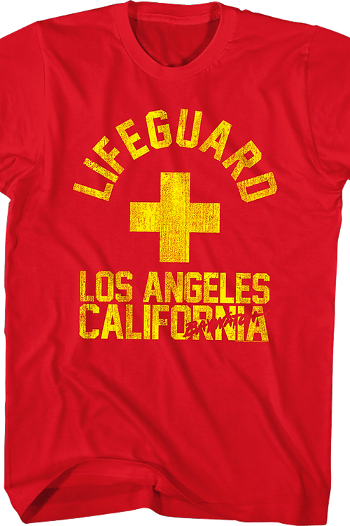 7a566c0b2922 California Lifeguard Baywatch T-Shirt  Non 80s TV  Baywatch Shirts