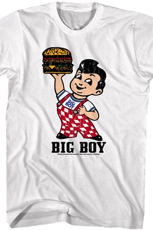 b7e91e35873 Bob s Big Boy T-Shirt Men s Licensed
