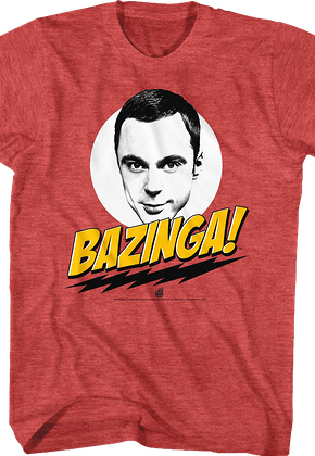 Big Bang Theory Bazinga T-Shirt