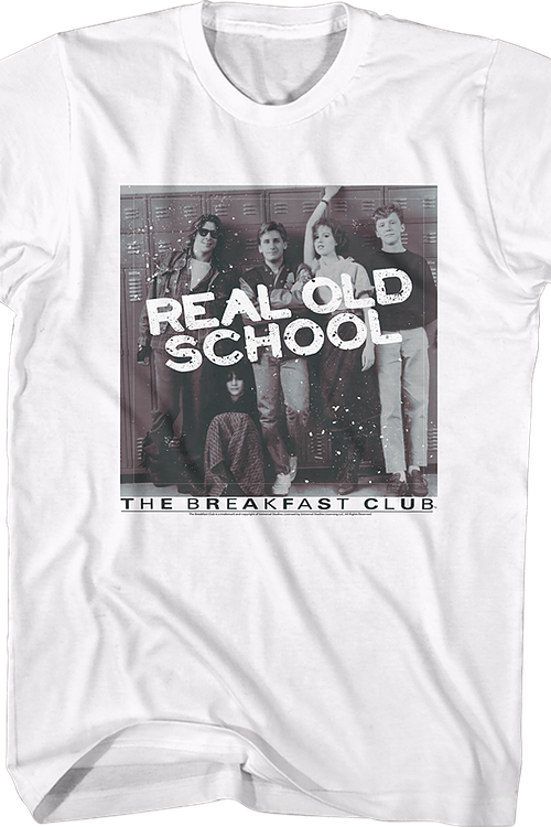 Real Old School Breakfast Club Shirt