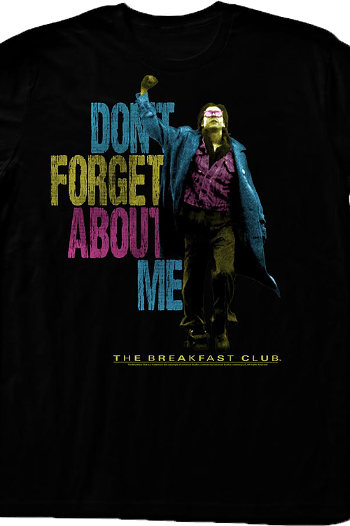 Neon John Bender Breakfast Club T-Shirt