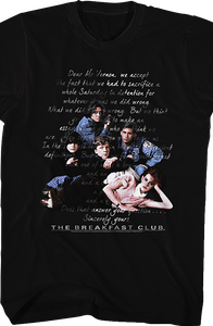 Sincerely Yours Breakfast Club T-Shirt