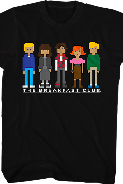 Pixels Breakfast Club T-Shirt