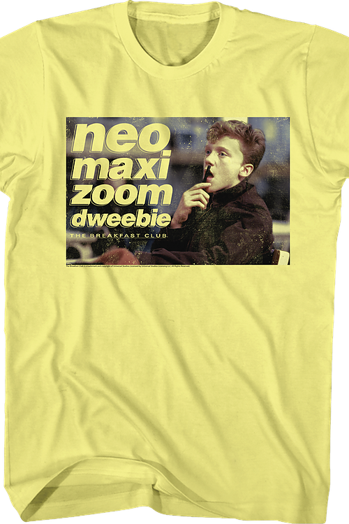 Neo Maxi Zoom Dweebie Breakfast Club T-Shirt