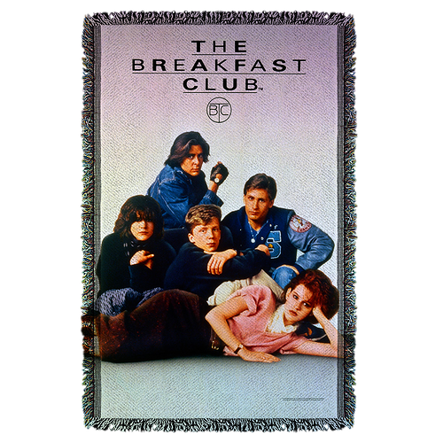 Breakfast Club Woven Throw Blanket