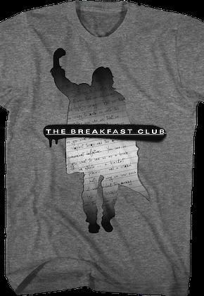 24df7ddaf Silhouette Essay Breakfast Club T-Shirt