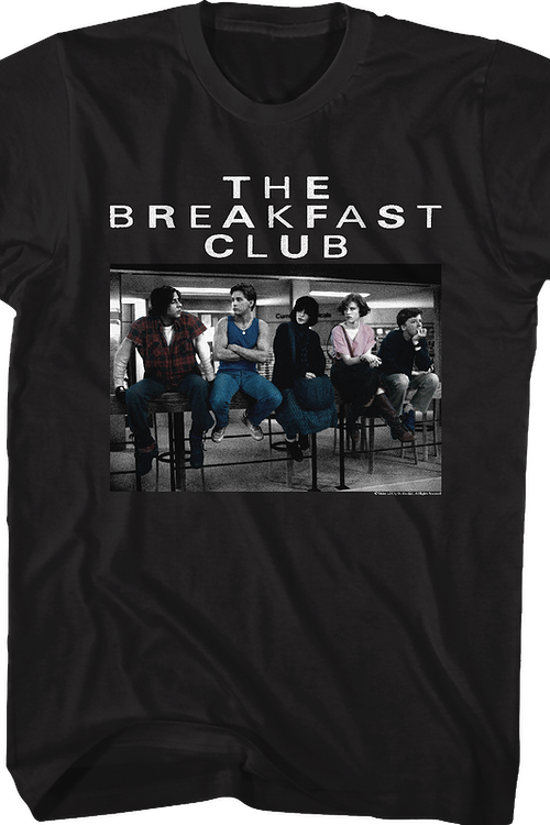 Painted Breakfast Club T-Shirt