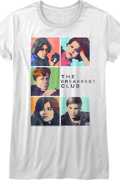Ladies Pop Art Breakfast Club Shirt