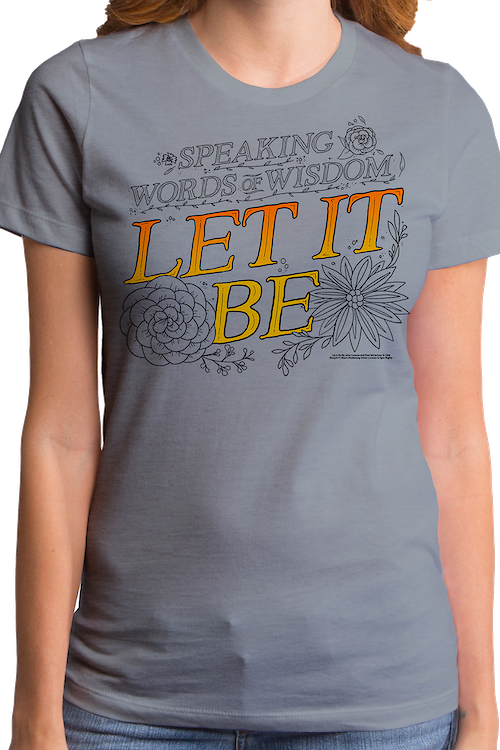 Junior Let It Be Beatles Shirt