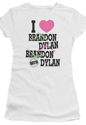 Junior I Love Brandon and Dylan Beverly Hills 90210 Shirt
