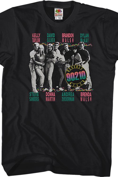 The Cast Of Beverly Hills 90210 T-Shirt