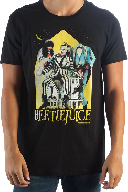 Movie Poster Beetlejuice T-Shirt