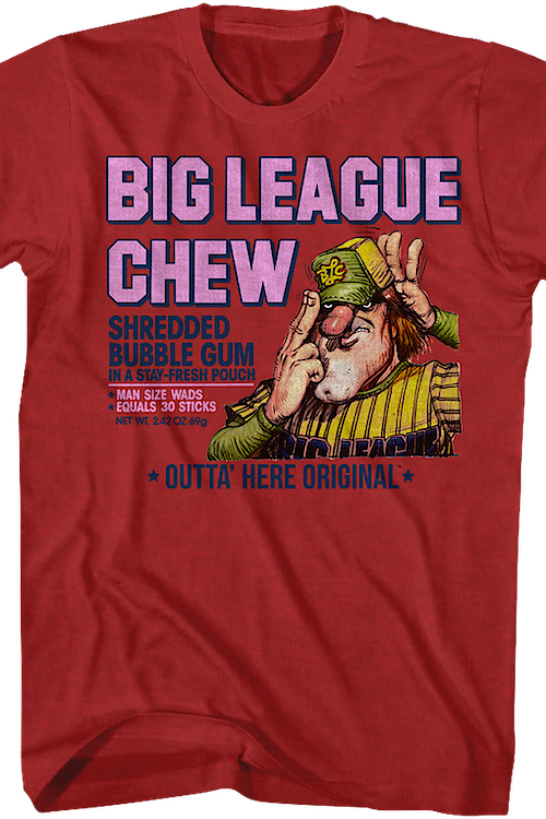 Outta Here Original Big League Chew T-Shirt