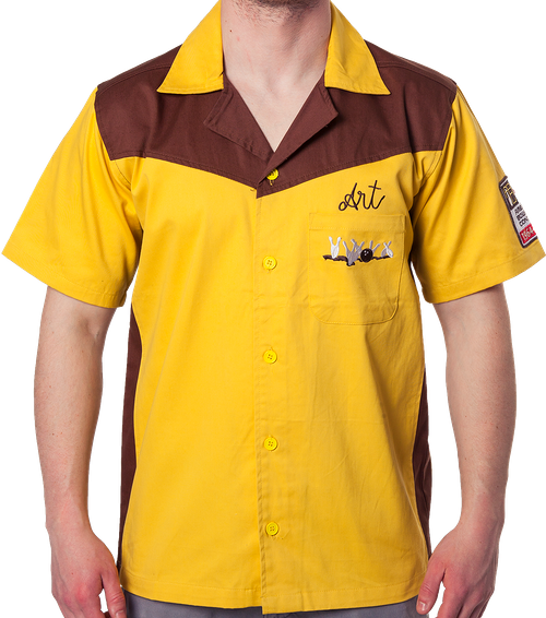 40c53d88 Authentic Replica Big Lebowski Bowling Shirt: Medina Sod Art's Shirt