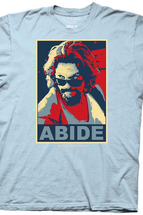 85e31006 Abide Big Lebowski T-Shirt: Big Lebowski Mens T-shirt