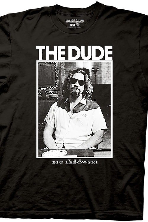The Big Lebowski The Dude Shirt