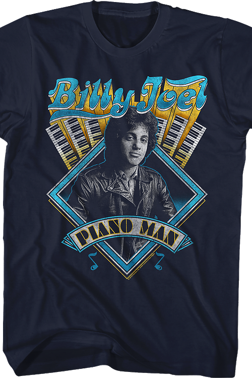 Billy Joel Piano Man T-Shirt