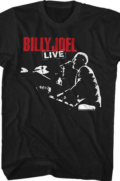 Billy Joel Live T-Shirt