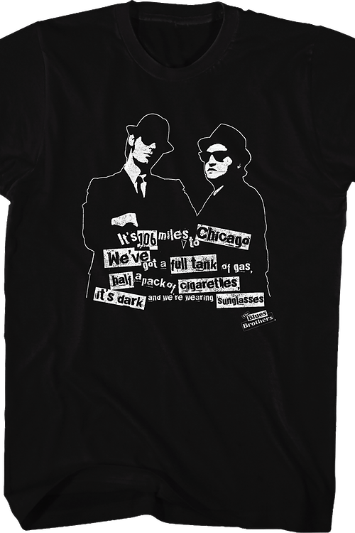 It's Dark Blues Brothers T-Shirt