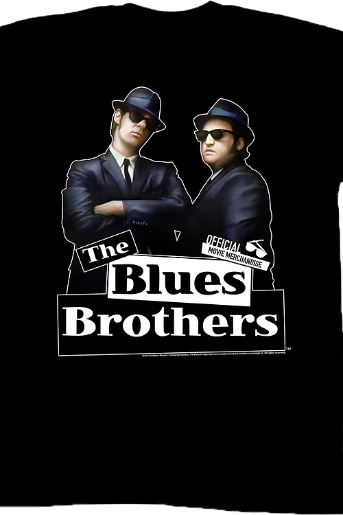 Elwood and Jake The Blues Brothers T-Shirt