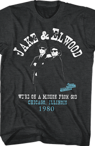 Mission From God Blues Brothers T-Shirt