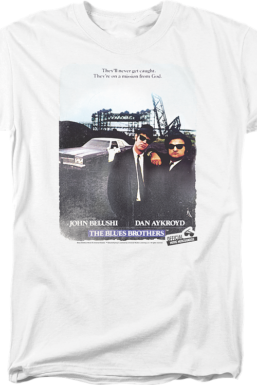 Movie Poster Blues Brothers T-Shirt